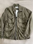 Olderbrother Military Coat Organic Cotton Olive Green Unisex Xs M65 Field Jacket