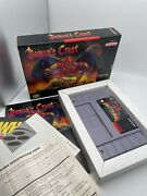 Demonand039s Crest Super Nintendo 1994 Snes Cib Tested Includes Mailers