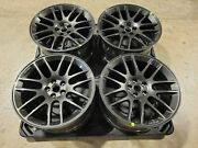 4 New Roush Mustang Paladium Grey Wheels Fit 2015-2021 Mustangs 20x9.5 Forged