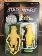 Star Wars Stan Solo Amanaman Reproduction Figure On Power Of The Force Card