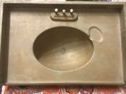 Rare Adams And Westlake Large Sink Chicago And North Western Rr Passenger Coach