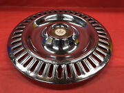 """Vintage 1955–56 Chrysler Imperial 15"""" Hubcap Good Condition"""