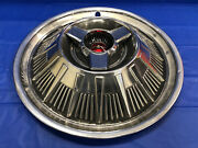 Vintage 1964 Ford Thunderbird 15andrdquo Spinner Hubcap Good Condition