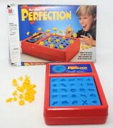 Vintage 1990 Milton Bradley The Game Of Perfection Complete In Box 4060 Euc