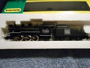 Minitrix Steam Locomotive And Tender 0-6-0   Cn  Canadian National N Scale