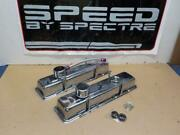Small Block Chevy Sbc Chrome Kitvalve Covers, Hold Downs And Breathers 54083
