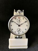 Hy. Moser And Cie Cavalry Military Imperial Europe One Button Chronograph C.1915
