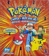 Pokemon Cards Topps Tv Animation 1st Edition Blue Label Complete Set 90/90