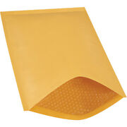 6 Kraft Bubble Mailers Padded Envelopes Heat Seal, 12.5 X 19 Inch, 250 Pack