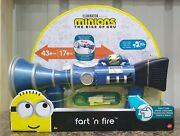 Fart 'n Fire Super-size Blaster, Minions The Rise Of Gru, New In Box, 20+ Sounds