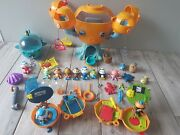 Octonauts Bundle Octopod 2 On The Go Pods Lots Of Characters And Sea Creatures