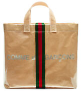 X Cdg Plastic And Paper Bag - Comme Des Garcons Happy Holidays
