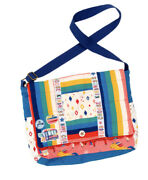 New Wildflowers Clothing Happy Go Lucky Honors Society Messenger Bag Nwt