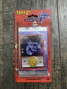 Metazoo Cryptid Nation 1st Edition Blister Pack With Mothman/coin In Hand