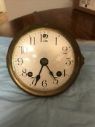 Ansonia Clock Movement And Dial / Ticks But Being Sold For Parts/ Repairs/