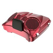 Velocity Red Sunglo Dual 8and039and039 Speaker Lids For Advanblack/harley Razor Tour Pak