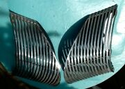 1939 Cadillac Lasalle Grilles Driver And Passenger Sides Randl Shiny Chrome