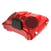 Scarlet Red Dual 8and039and039 Speaker Lids Fits Advanblack/harley Razor Tour Pack Pak