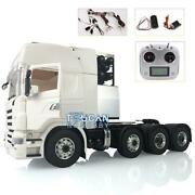 1/14 Lesu Scania Metal 88 Chassis Rc Tractor Truck Sound Motor Hercules Cabin