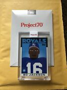 Topps Project 70 Card 234 - 1986 Bo Jackson By Keith Shore - In Hand 234
