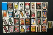 Wacky Packages 1974 Series 5 Complete Set Exmt/nm