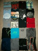Guc Lot Of 20 Boys Size 10 12 Spring Summer Name Brand Nike Old Navy Reebok 821