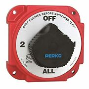 Perko 8603dp Heavy Duty Battery Selector Switch With Alternator Field Disconnect