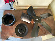 1969 Ford Mustang Boss 302 Fan Spacer Water Pump And Crank Triple Groove Pulley