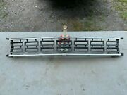 1968 Plymouth Roadrunner Grille 68 Front Grill Restored Re-anodized Install Now
