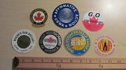 7 Rare United Steel Workers America Union Sticker Decals Syndicat Member