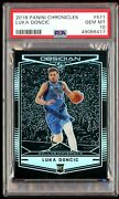 Psa 10 Rc Luka Doncic 2018-19 Obsidian Preview Silver Holo 571 Invest Now