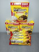 16 Fit Crunch Chocolate Peanut Butter Bars 12snack 4meal Robert Irvine R2p1