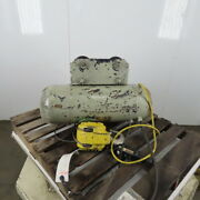 Cm Chisholm-moore 1-1/2 Ton Electric Hoist Wire Rope 480v 3ph 15and039 Lift 18fpm