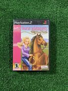 Complete Barbie Horse Adventures Wild Horse Rescue Playstation 2 Ps2 Ships Free