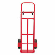 Two-way Convertible Hand Truck 500-600 Lb Capacity 18w X 51h Red   Total