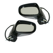 For 06 07 08 Is250 And Is350 Mirror Power Heated W/memory And Puddle Lamp Set Pair