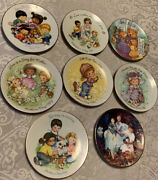 Lot Of 8 Avon Mother's Day Plates 1981,1982, 1983, 1989, 1991, 1992, 1996 And 2001