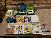 Lot Of Two Consoles 13 Games Charger Two Cases Leapster2 Leapfrog Toy Story Y5