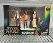 Sdcc 2021 Star Wars The Power Of The Force Cantina Showdown Playset Usa In Stock