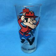 Dudley Do Right Vintage Pepsi Cola Promo Drinking Glass
