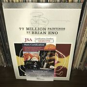 Signed By Brian Eno + Coa 77 Million Paintings Dvd Album Ambient Music Roger