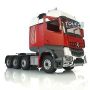 Lesu Metal 1/14 Chassis Rack Hercules Actros Rc Benz Cabin Tractor Truck Painted