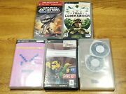 Lot Of 5 Psp Games -tested-plese Read Description