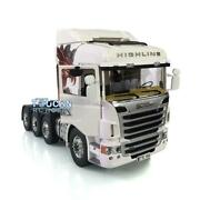1/14 Lesu Metal 88 Chassis Rc Scania R730 Tractor Truck Hercules Gripen Cabin