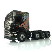 Rc Lesu Metal 88 Chassis 1/14 R730 Scania Tractor Truck Painted Hercules Cabin