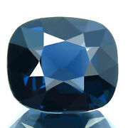 2.87ct Flawless Natural Spinel Cobalt Blue Unheat Awesome Color Oval Master Cut