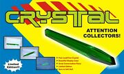 Crystal Prop Green Christopher Reeve 1978 Movie Rare Glass Steel Superman Rare