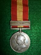 Canada General Service Medal, Fenian Raid 1866 To Officer, 7th Royal Fusiliers