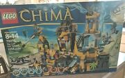 New In Box Seales Lego Legends Of Chima The Lion Chi Temple 70010