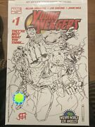 Young Avengers 1 Wizard World La Sketch Variant Cover 1st Kate Bishop Signed